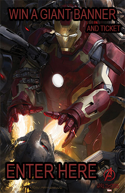 Enter the Giant Avenger Banner Competition